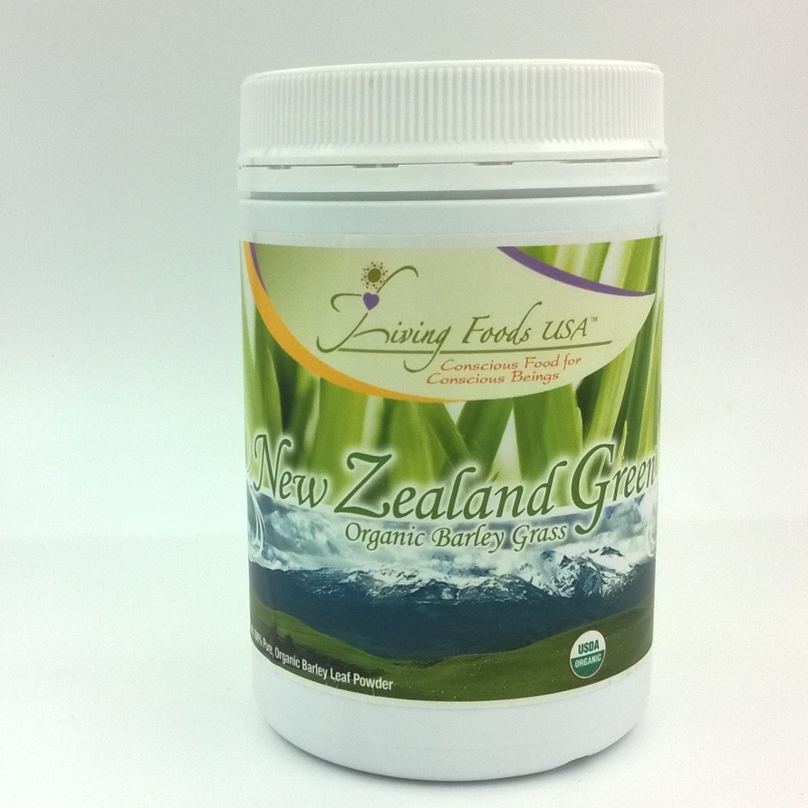 New Zealand Organic Barley Grass