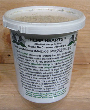 Hemp Hearts Nature's Power Food