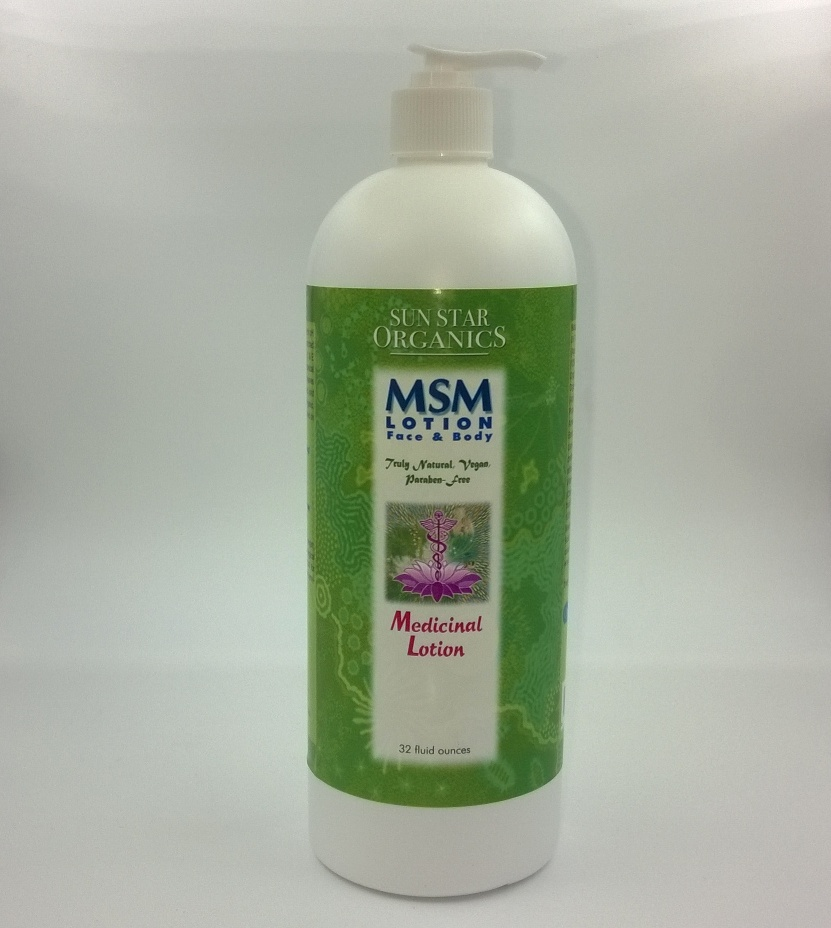 MSM Face & Body Lotion