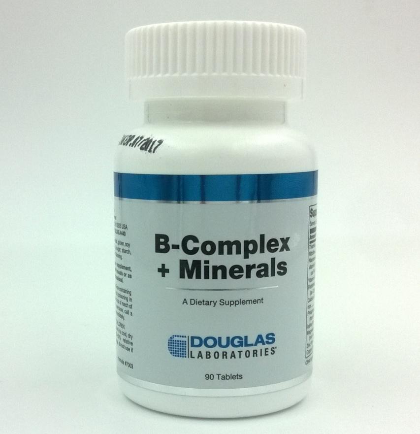 B-Complex + Minerals