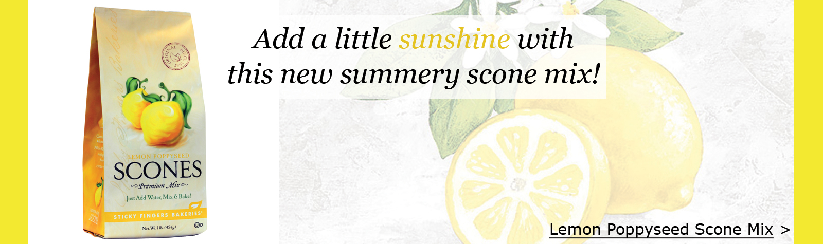 Lemon Scone Mix