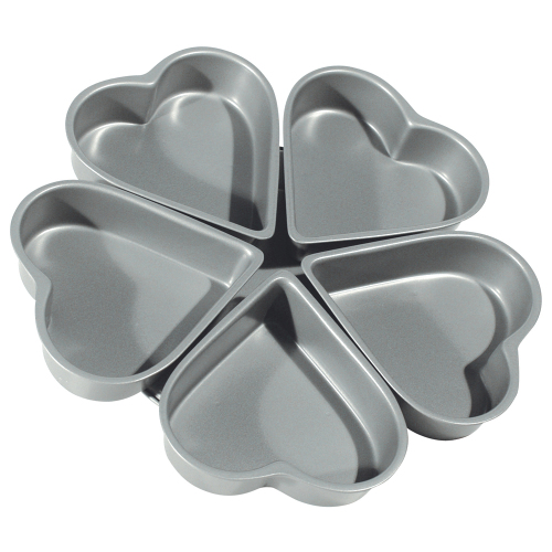Linked Heart Baking Pan