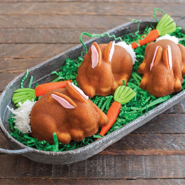 Baby Bunny Cakelet Pan - Nordic Ware