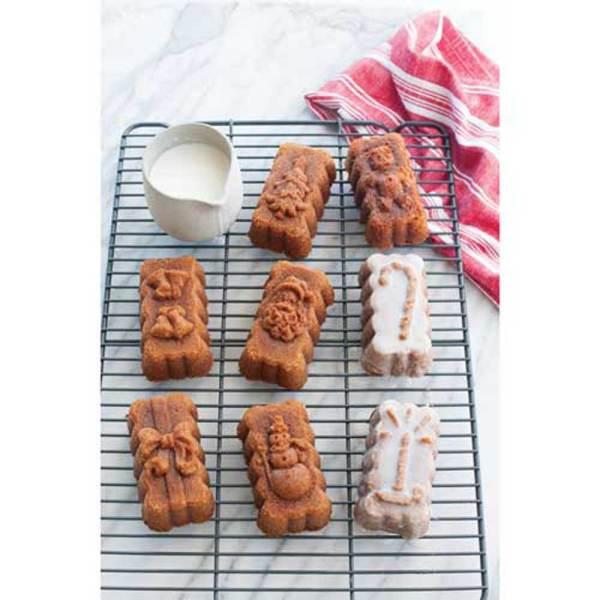 Holiday Mini Loaf Pan - Nordic Ware