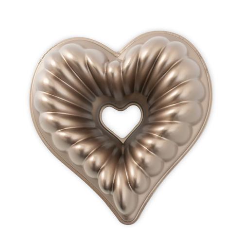 Elegant Heart Bundt Pan - Nordic Ware