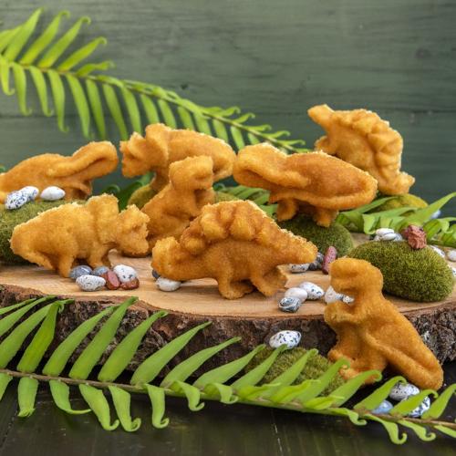SOS!  Dinosaur Cakelet Pan - Nordic Ware