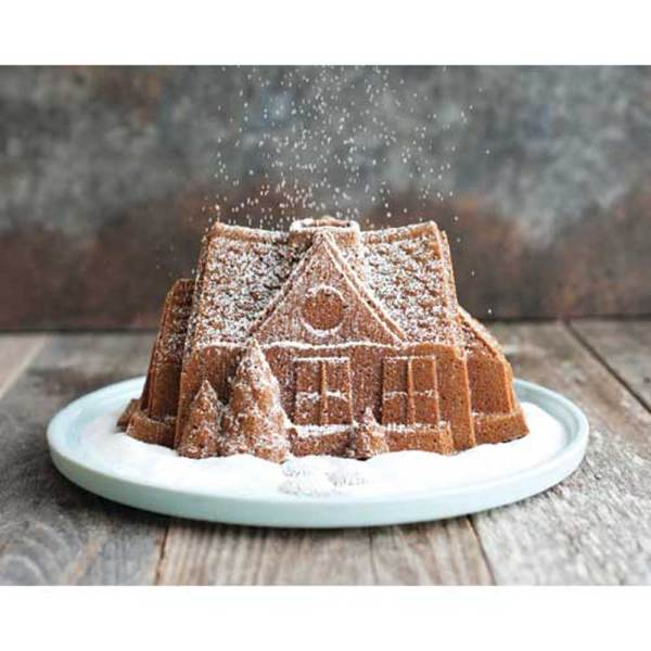 SALE!  Gingerbread House Bundt Pan - Nordic Ware