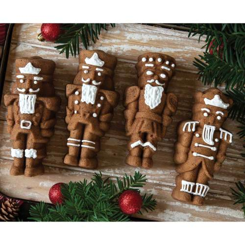 SALE!  Nutcracker Sweets Cakelet Pan - Nordic Ware