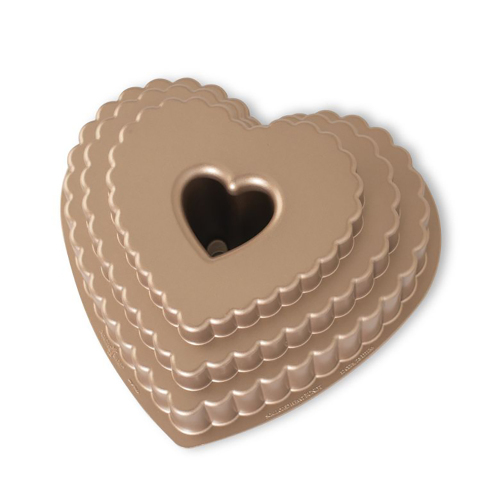 Tiered Heart Bundt Pan - Nordic Ware