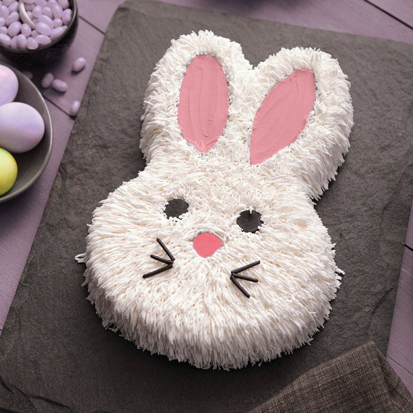 Bunny Cake Pan - Nonstick