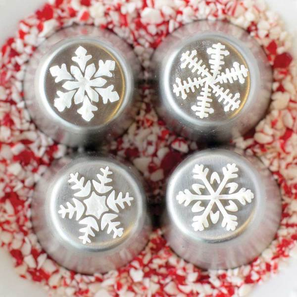 Fancy Snowflake Russian Piping Tip Set