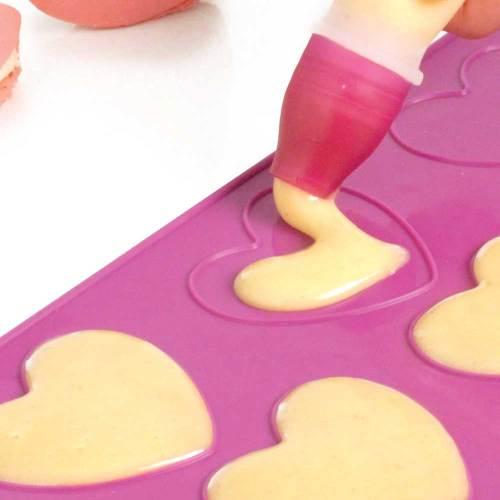 Heart Shaped Macaron Baking Sheet