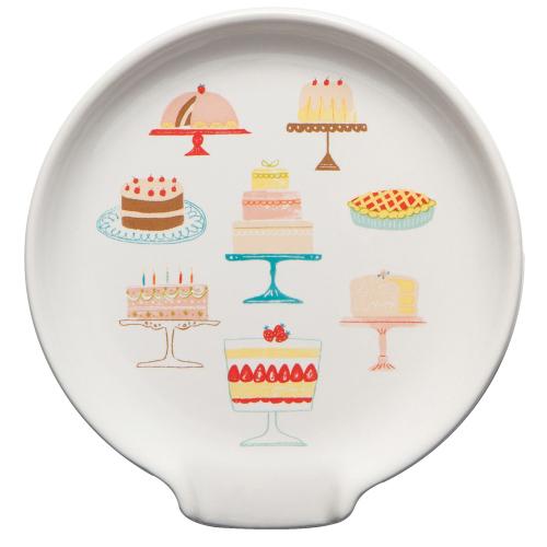 SALE!  Cake Walk Spoon Rest