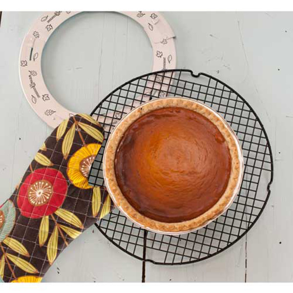 LTD QTY!  Adjustable Pie Crust Shield - Nordic Ware