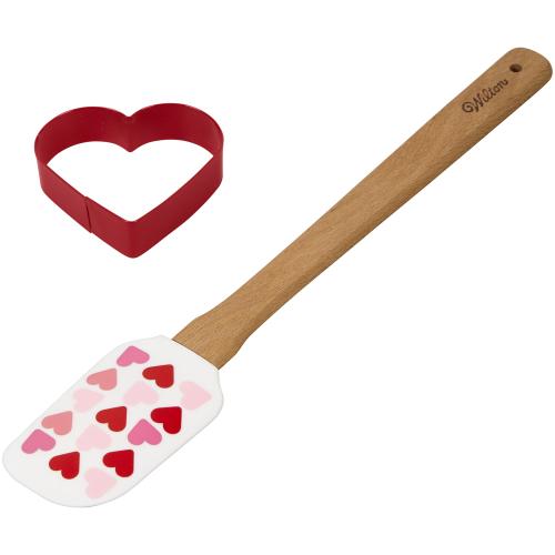 SOS!  Heart Cookie Cutter & Spatula Set