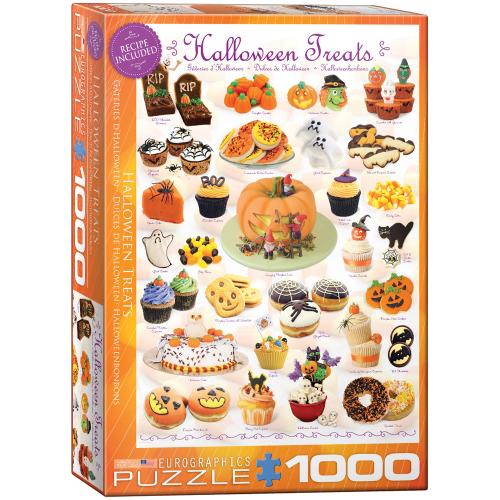 LTD QTY!  Halloween Treats Puzzle