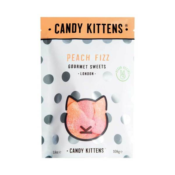 LTD QTY!  Peach Fizz Candy Kittens