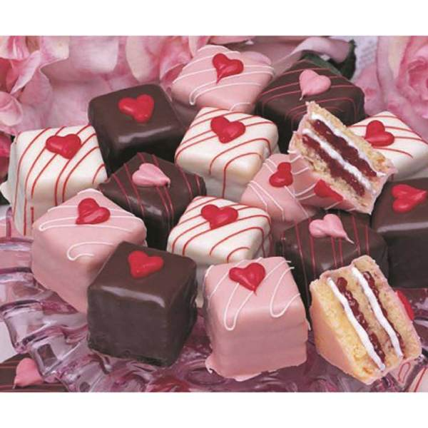 Petit Fours Valentine Assortment