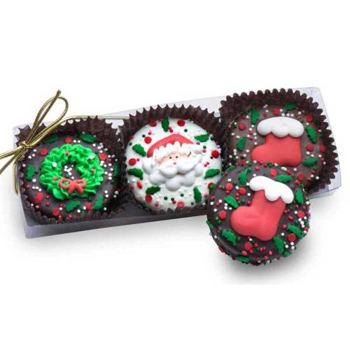 SOS!  Christmas Oreos Gift Box of 3