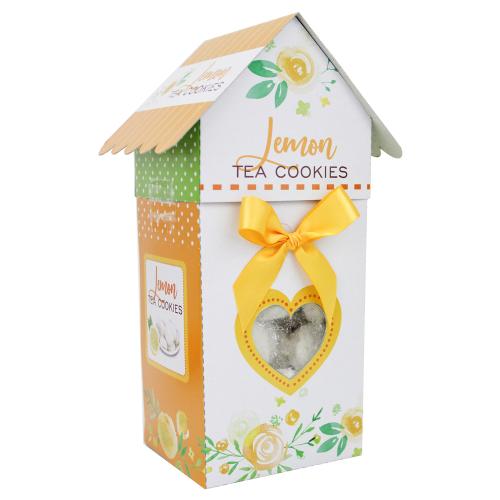 Birdhouse Lemon Tea Cookies