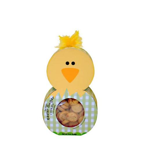 SALE!  Easter Chick Character Sprinkled Sugar Cookies