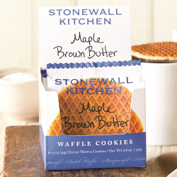 Maple Brown Butter Waffle Cookies
