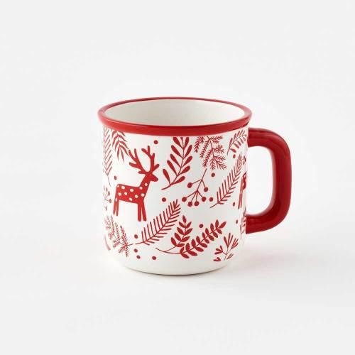 Scandi Patterned Mug