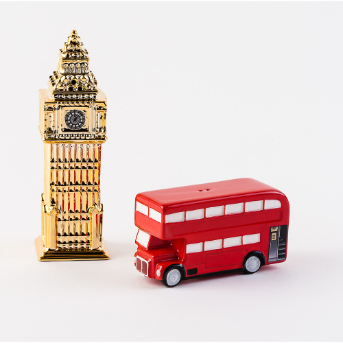 London Bus & Big Ben Salt & Pepper Set