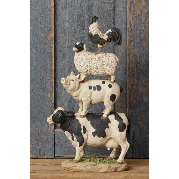 SALE!  Farm Animal Stack Figurine