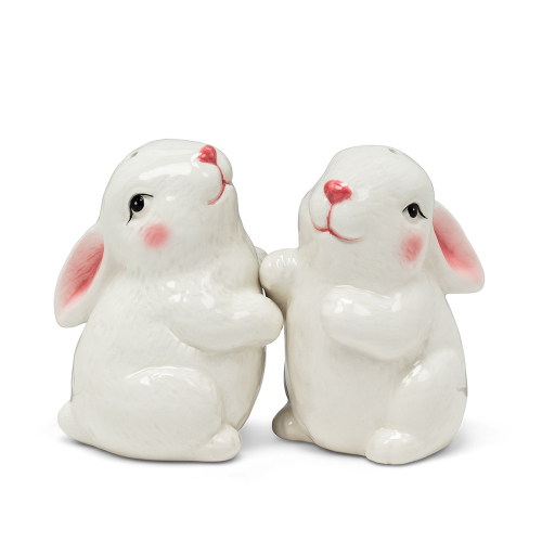 Bunny Pair Salt & Pepper Set