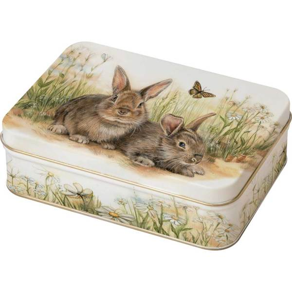 Bunny & Clyde Candy Tin