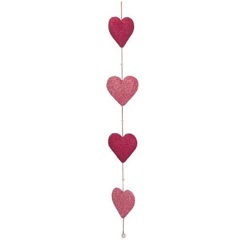 Vertical Heart Garland