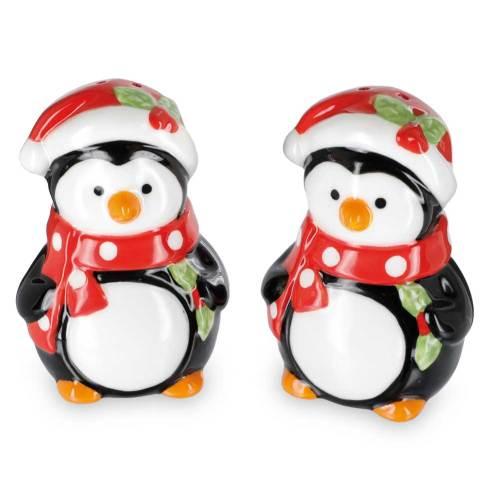 Festive Penguin Salt & Pepper Set