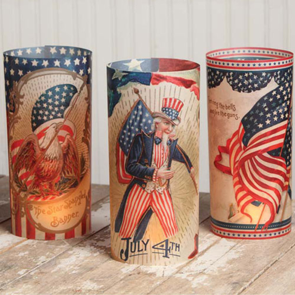 4th of July Luminaries Set