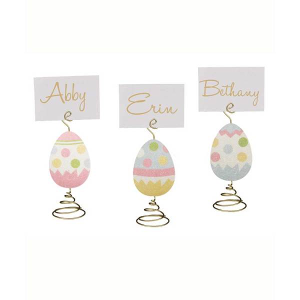 SALE!! Easter Egg Place Card Holders