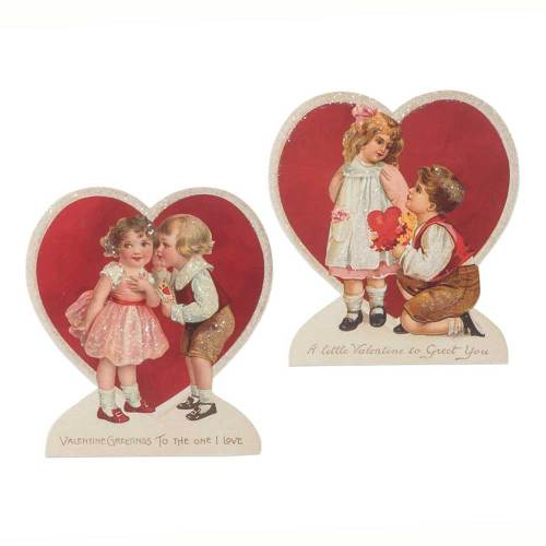 SALE!  Heart Valentine Dummy Boards