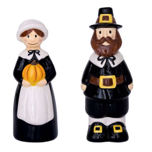 LTD QTY!  Pilgrim Salt & Pepper Set