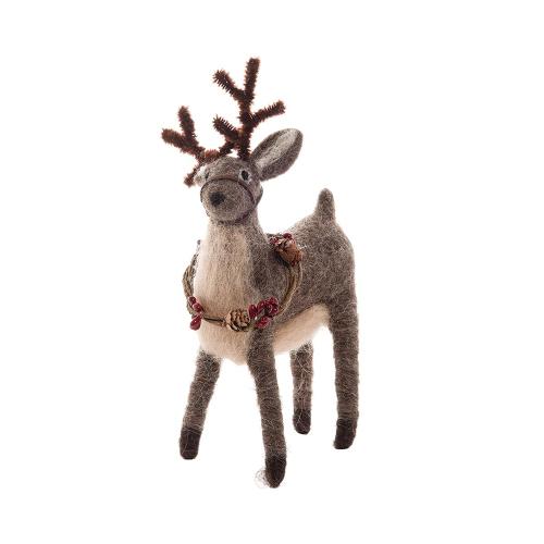 Woodland Deer Ornament