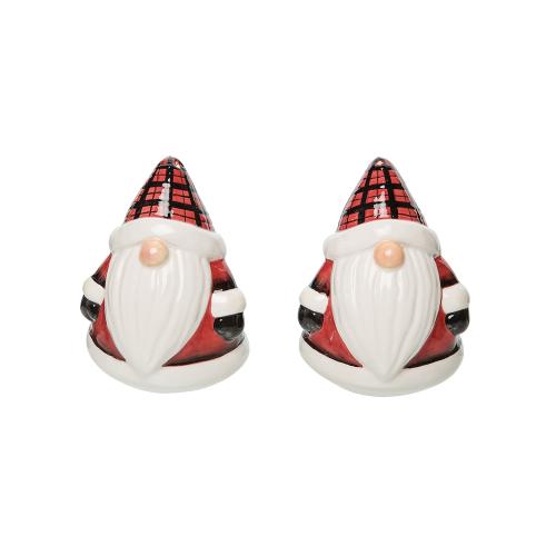 N/A!  Plaid Gnome Salt & Pepper