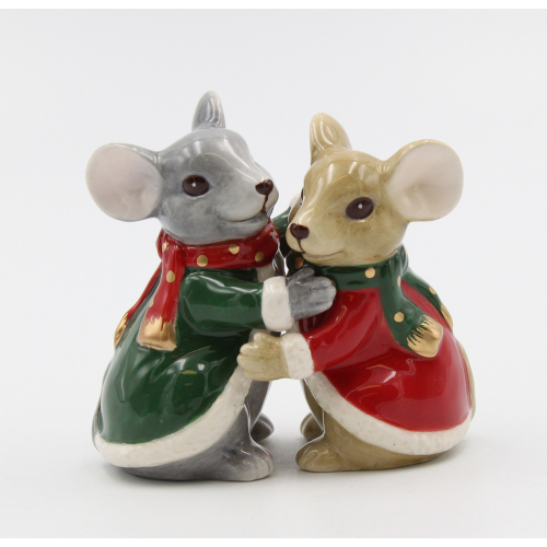 Christmas Mice Salt & Pepper Set