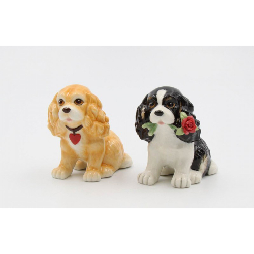 LTD QTY!  Cocker Spaniel Salt & Pepper