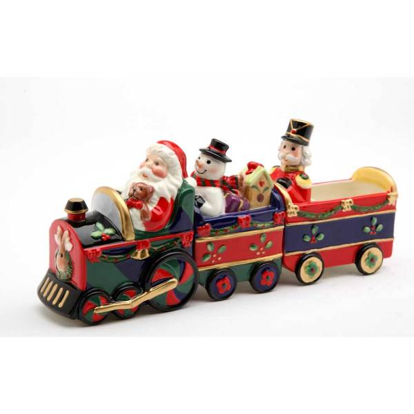SALE!  Train Salt & Pepper Set