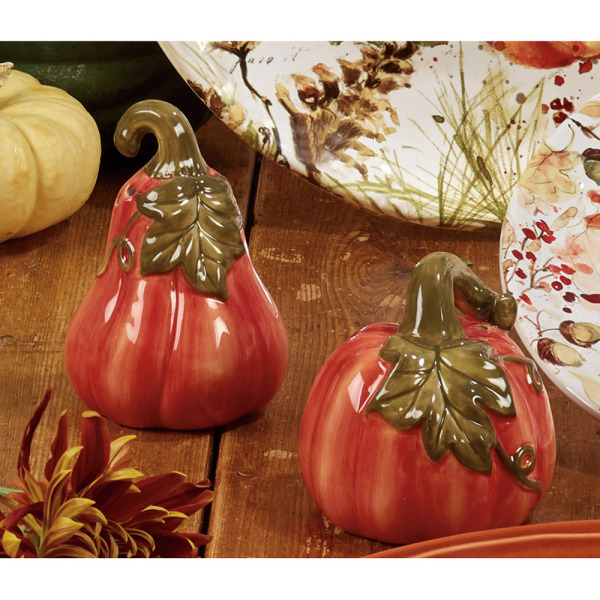 SOS!  Prize Winning Pumpkin Salt & Pepper