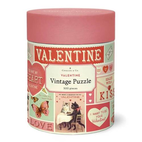 SOS!  Vintage Valentine Puzzle