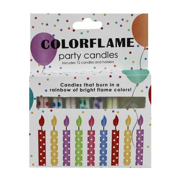 Colorflame Party Candles