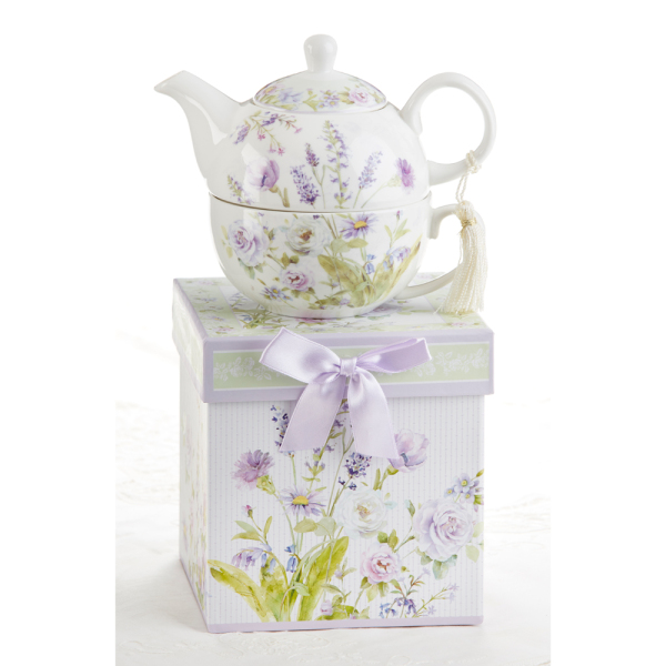 SALE!  Lavender Rose Tea for One