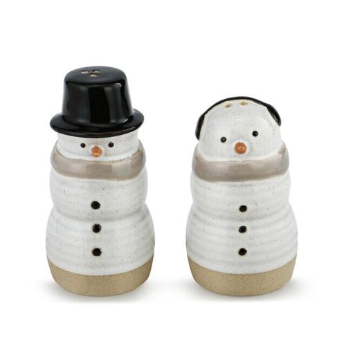 Snow Day Snowman Salt & Pepper Set