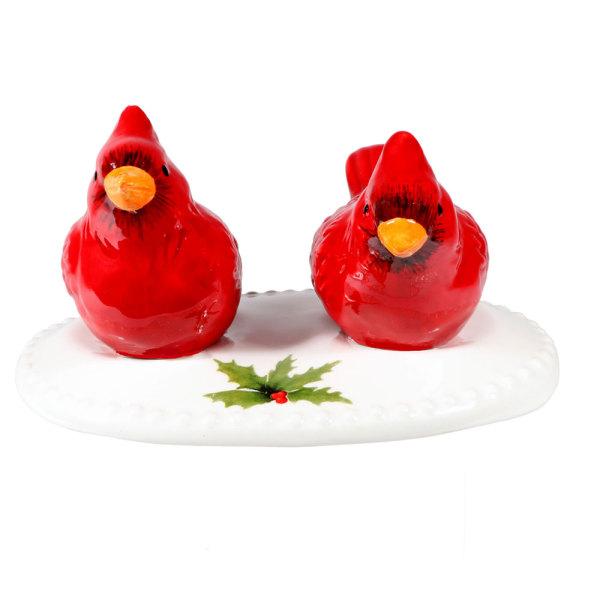 Cardinal Salt & Pepper Set