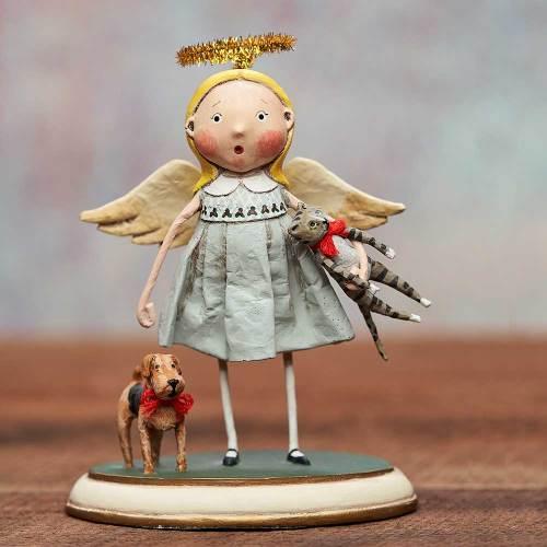 LTD QTY!  Animal Keeper Figure - by Lori Mitchell