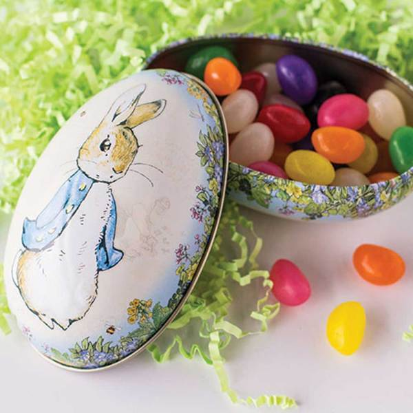 LTD QTY! Peter Rabbit Medium Egg Tin